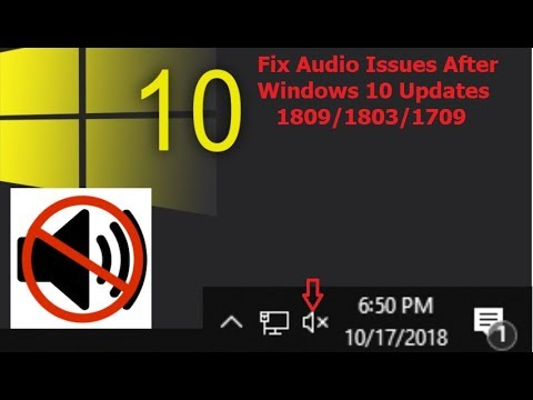 How to Fix All Audio Issues After Windows 10 Updates 1809/1803/1709