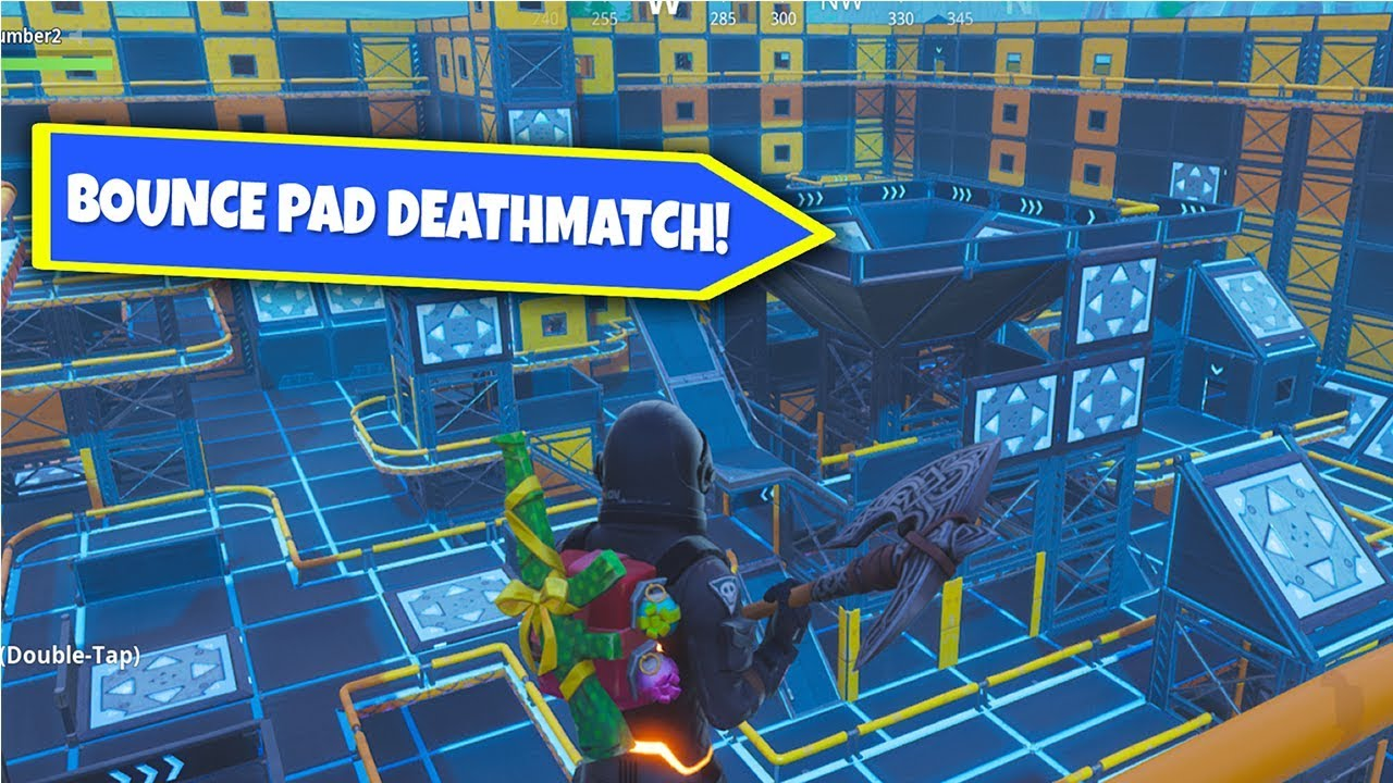 Bounce Pad Deathmatch - Fortnite Creative Map Code