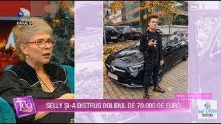 Teo Show (12.12.2019) - Selly si-a distrus bolidul de 70.000 de EURO!