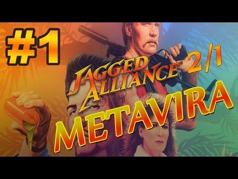 Прохождение Jagged Alliance 2/1 Metavira #1 с комментариями