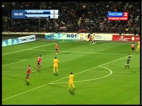 Euro 2012-Armenia-Macedonia/Армения-Македония (1 тайм)
