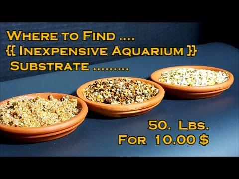 Inexpensive Bulk Aquarium Substrate