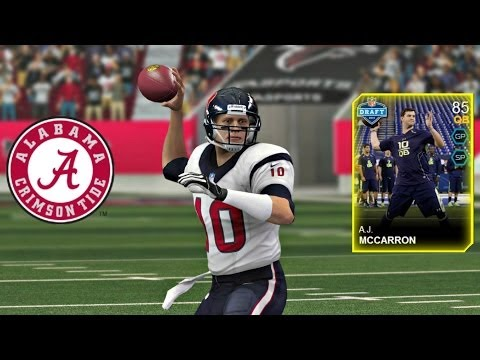 Madden 25 Ultimate Team - A.J. McCarron joins the SEC Squad(Madden 15 Preview)