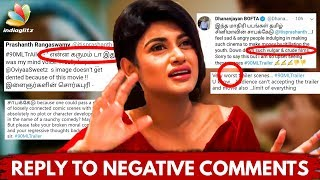 Reply to FANS for negative reviews of 90ML Trailer : Director Anita Udeep Interview | Oviya Army