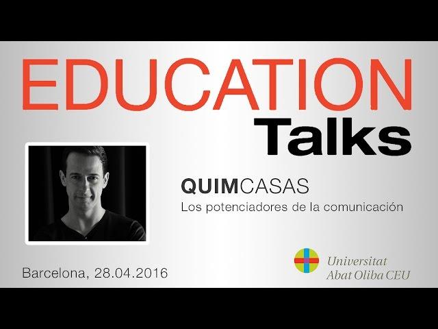 Quim Casas. Actor y profesor UAO CEU