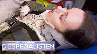 Unter Drogeneinfluss einen Unfall gebaut? Warum hat sie rote Augen? | Die Spezialisten | SAT.1 TV