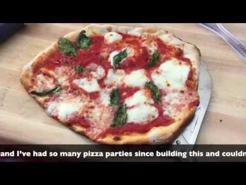 DIY Wood Fire Pizza Oven Build