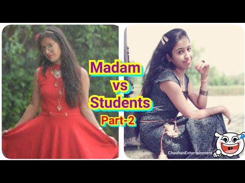 Madam vs Students | In Park ! Part-2 | CE | Chauhan Vines New 2018