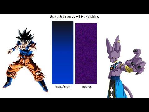 U.I Mastered Goku & Jiren vs Hakaishins - Dragon Ball Super