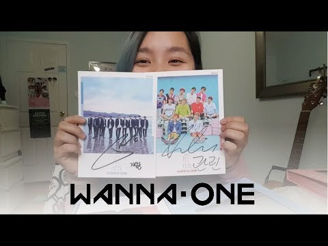 Wanna One To Be One SIGNED Album Unboxing!