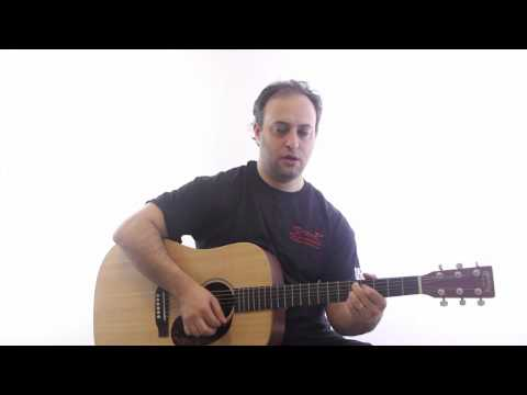 Easy Acoustic Guitar Lesson on Funk Rhythm - Learn to Play Funk Rhythms on Guitar