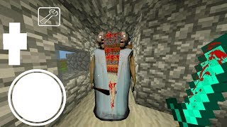 ПРОХОЖУ БАБКУ ГРЕННИ В МАЙНКРАФТ 2 - Granny In Minecraft PE