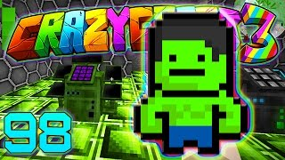Minecraft Crazy Craft 3.0: INCREDIBLE HULK ARMOR, ZORRO AND MORE #98 (Modded Roleplay)