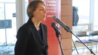 Natalia Loukacheva - Nansen Professor In Akureyri