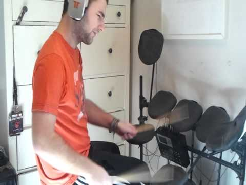 We All Fall Down - Kevin Sherwood & Clark S. Nova (Drum Cover)