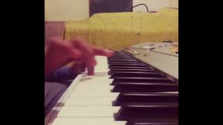 عزف موسيقى اغنية سنوات الضياع - Yamaha A300