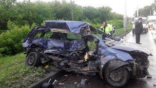 Жесткие аварии за весь Август 2015  Car crash compilation 2015