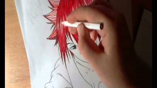 Draw anime guy \ рисуем аниме парня(I'm sorry, this video was flawed. Music ends at half the video, and the ending fails. https://vk.com/artbyluna_deviantart мой паблик в вк ..., 2013-10-06T10:56:38.000Z)