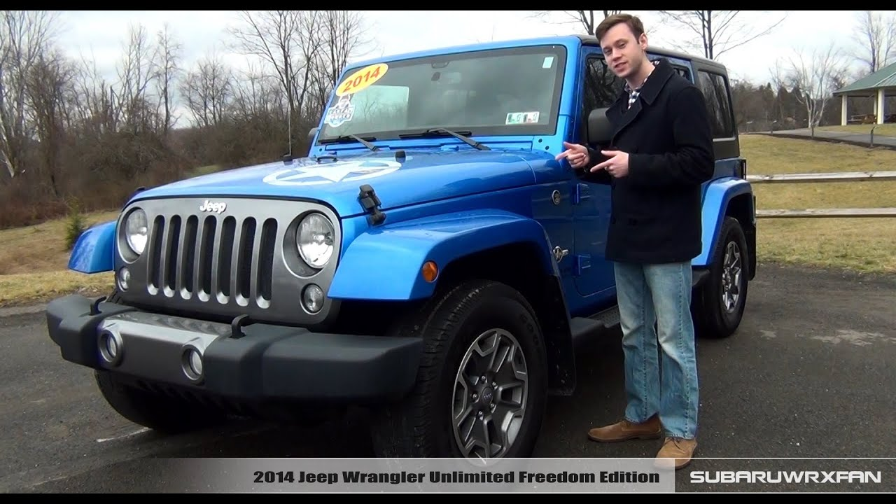 review 2014 jeep wrangler unlimited freedom edition youtube. Black Bedroom Furniture Sets. Home Design Ideas