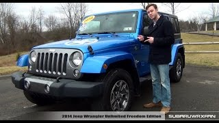 Review: 2014 Jeep Wrangler Unlimited Freedom Edition