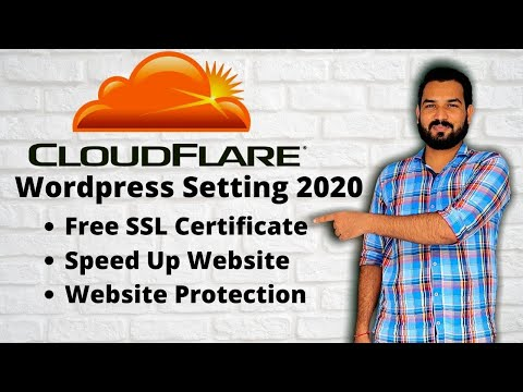 Free Cloudflare Setting For WordPress 2020 | Fast Website Free SSL Protection From DDOS Attack