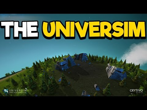 The Universim #2 - Buildings for Medicine and Growth!