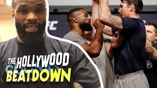 How Tyron Woodley Mentally Prepared to Beat Darren Till | The Hollywood Beatdown