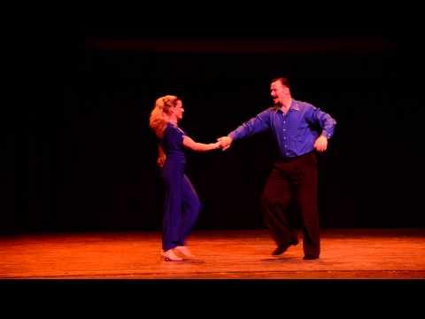DWAS 2015 - Exhibition Dances - Jason and Amy Barnes - Uptown Funk