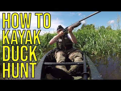 How To Kayak Duck Hunt