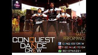 Up wala Thumka lagaun mix | Conquest Dance Crew | Hip-hop Dance Performance