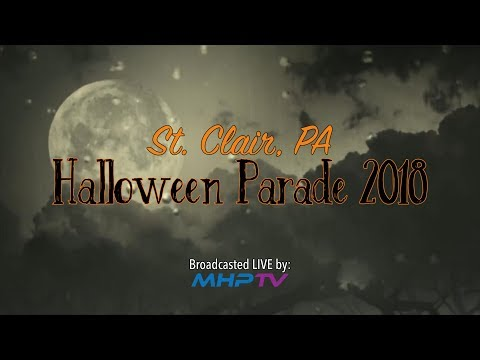 St. Clair, PA Halloween Parade 2018 - Presented by MHP