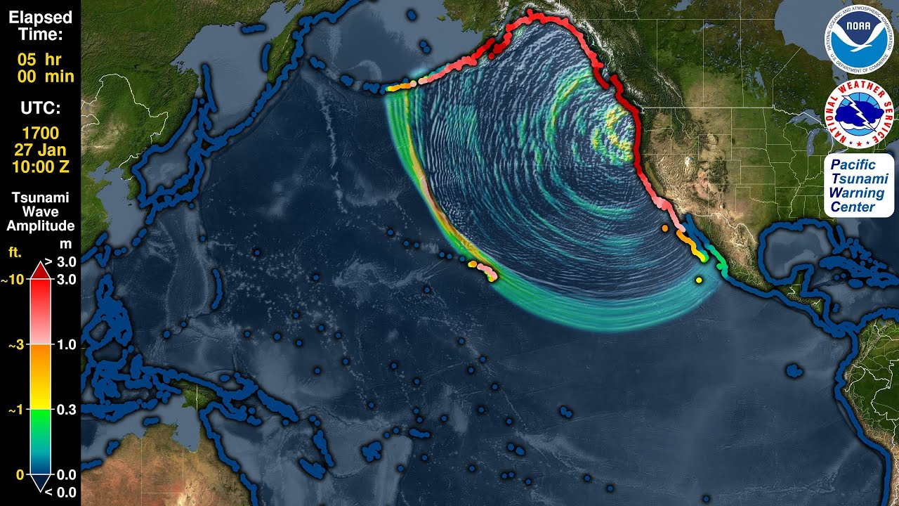 Tsunami Forecast Model Animati...