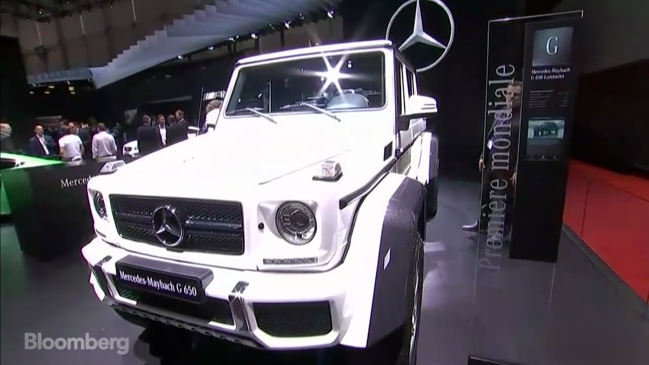 Mercedes is making the world s most expensive suv youtube for Most expensive mercedes benz in the world