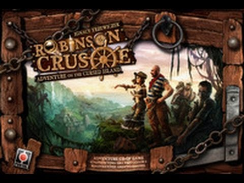 Off The Shelf Board Game Reviews Presents - Robinson Crusoe Part 1
