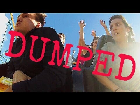 Real Couple Breaks Up On Roller Coaster