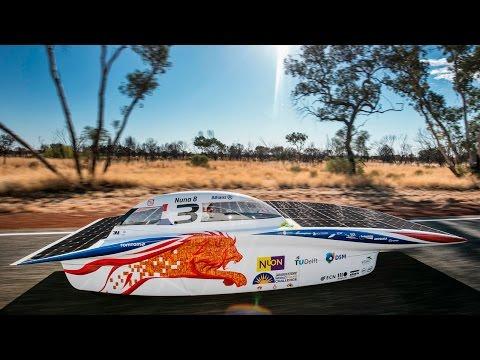 Nuna8 wins World Solar Challenge 2015