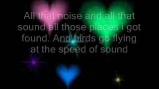 Repeat youtube video speed of sound- Coldplay lyrics