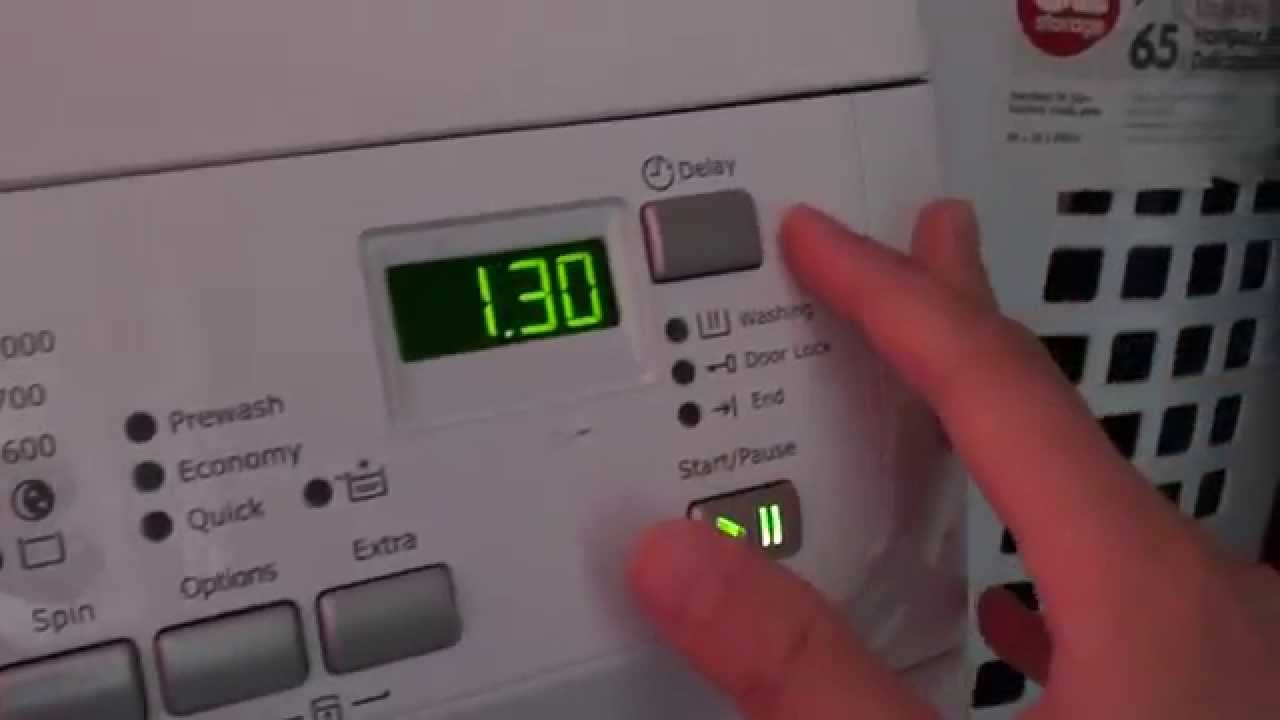 How to Use the Electrolux Washing Machine Front Loading