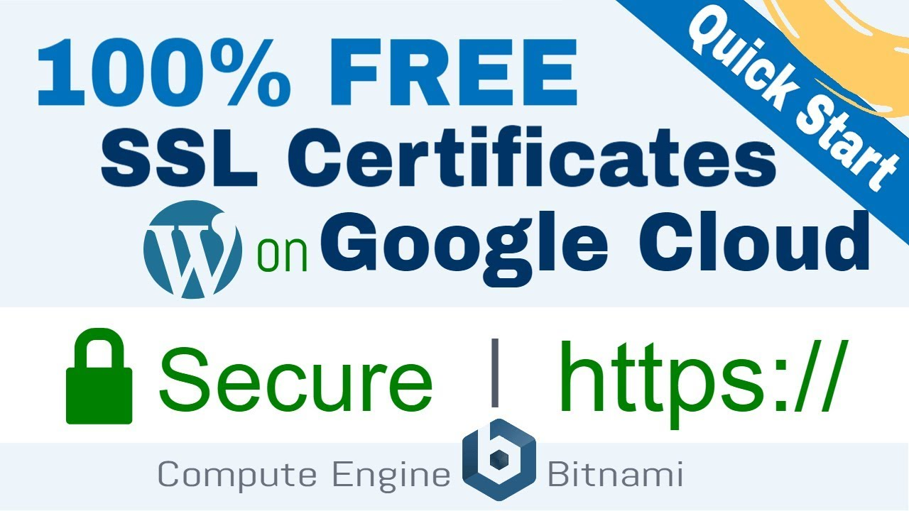 Setup Free SSL for WordPress on Google Cloud (Bitnami