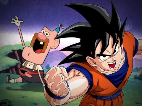 Uncle Grandpa vs Goku (Dragon Ball Z) -...