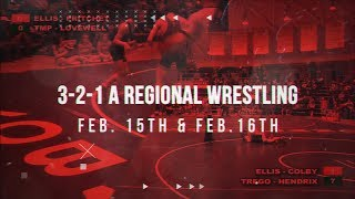 2019 3-2-1A Regional Wrestling WaKeeney, KS - Friday, Feb. 15th