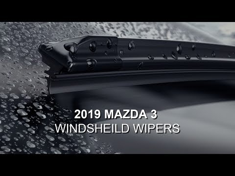 2019 Mazda 3 | Windshield Wipers Removal