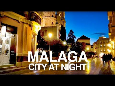 Malaga City, Costa Del Sol - Nightlife, Bars & Restaurants Walking Tour.