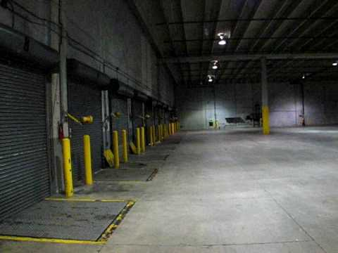 Warehouse Interior From Loading Dock