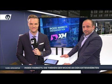 XM Inside Markets: DAX-Ziel 12.550 - Allianz und Netflix top - Gold als Beimischung