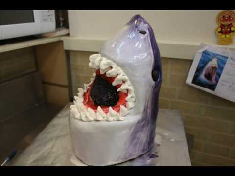 Shark Birthday Cake Instructions