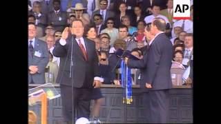 Nicaragua - New president sworn in