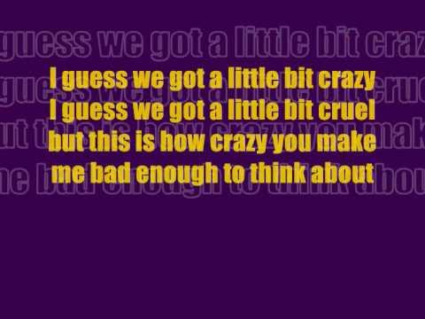 Crazy for you lyrics jls