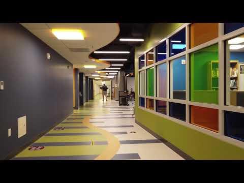 North Stonington Elementary School virtual video tour featured at ribbon cutting 8.30.2020