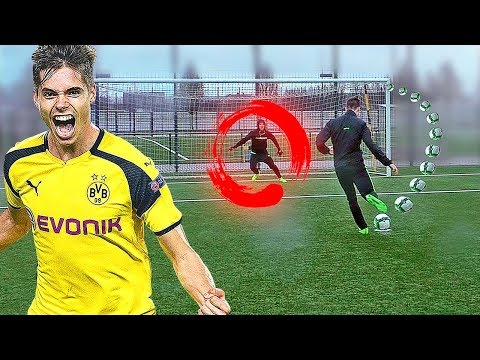 freekickerz vs Julian Weigl (Borussia Dortmund) - Penalty Challenge